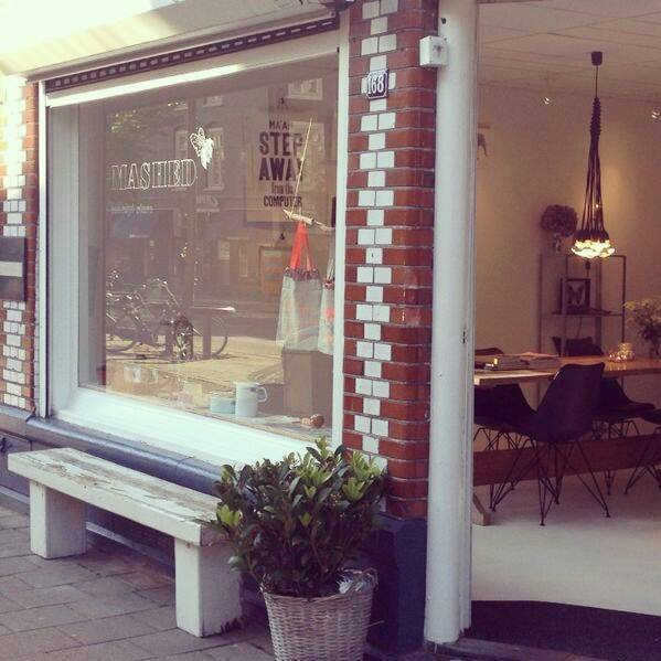 Mashed: concept store in Oud West