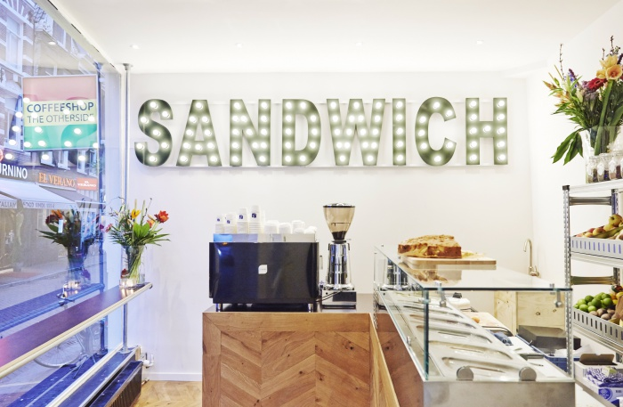 Coffee concepts sandwich Amsterdam