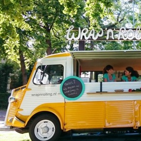 Wrap 'n Rolling: van foodtruck naar pop-up