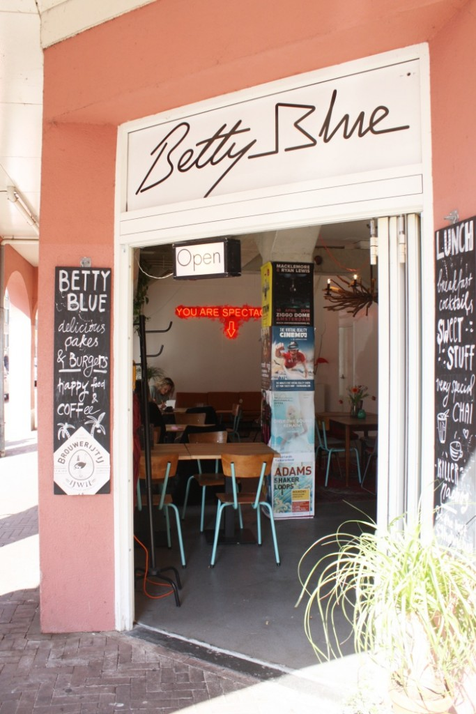 Lunch nieuwmarkt Betty Blue
