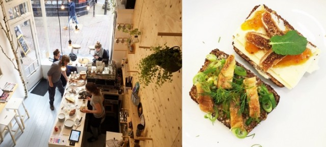 Lunchen met smørrebrød bij De Noorman in Deventer